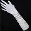 Brauthandschuhe-fingerlos-Braut-Handschuhe-Strass-Perlen-Hochzeit-Elfenbein-Weiss Indexbild 9