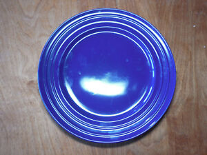 Image is loading Rachel-Ray-DOUBLE-RIDGE-BLUE-RASPBERRY-Set-of- & Rachel Ray DOUBLE RIDGE BLUE RASPBERRY Set of 3 Dinner Plates 11 ...
