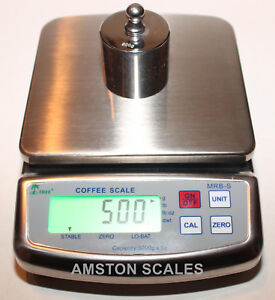 600 X 0 1 Gram Digital Scale High Quality Stainless Steel Coffee