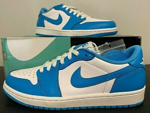 Nike Sb X Air Jordan 1 Low Unc Powder Blue Cj7891 401 Size 9 Men S