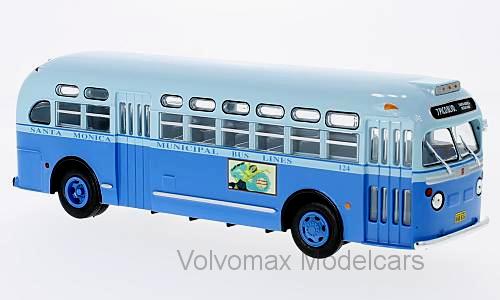 Merveilleux IXO-Modelbus General Motors TDH 3714 Santa Monica 1955-échelle 1 43