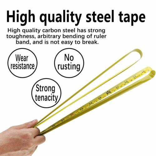 Metric British System Auto Lock Measurement Tape Measure Tape Inches Centimeters