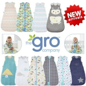 New Designs Grobag Baby Sleeping Bag Boy Girl All Sizes Autumn Winter 2.5 & 3.5