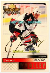 UD-MVP-STANLEY-CUP-EDITION-1999-JASON-WOOLLEY-SABRES-GOLD-SCRIPT-AUTOGRAPH-100