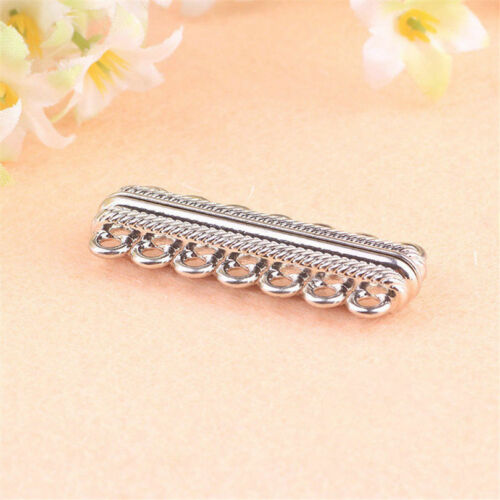 5pcs Silver Plated Magnetic Clasps  Necklace Bracelets Findings Fashion Jewelry