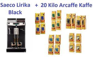20-Kilo-Arcaffe-Kaffee-Phillips-Saeco-Lirika-Black-Kaffeemaschine