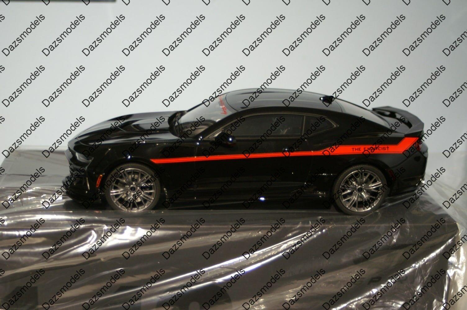 GT SPIRIT Hennessey Camaro ZL1 l'exorciste noir 1 18 Résine GT225