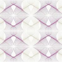 Wallpaper Designer Retro Modern Pink Magenta & Pewter Dot Diamond Optic