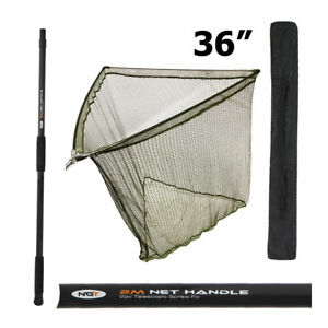 2M HANDLE 36 DUAL FLOAT LANDING NET STINK BAG NGT CARP FISHING