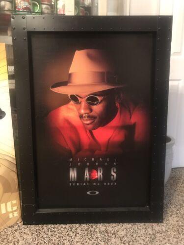 Oakley Aluminum X-Metal Michael Jordan Mars Poster