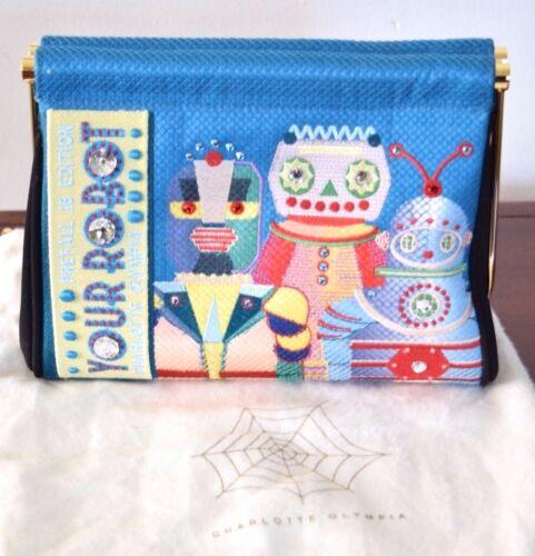 Bordado Bolso Multicolor 16 Robot Charlote Edición Olympia Prefall nq0xfRX