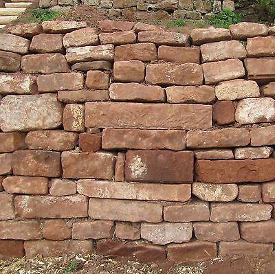 1,3 T Buntsandstein € 335/t Natursteinmauer Trockenmauer Garten Kräuterspirale