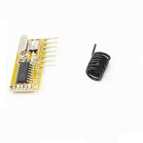 1PCS RXC6 433Mhz Superheterodyne Wireless Receiver PT2262 Code Steady