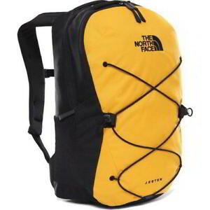 North Face Jester Mens Womens Yellow Rucksack Backpack School Work Laptop Bag
