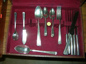 32pcs-Intern-1847-Rogers-1923-ANNIVERSARY-FLATWARE-for-Replacement-Expansion