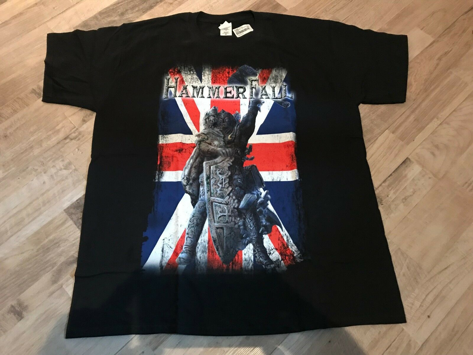 Hammerfall - (r)Evolution Tour - London  09.05.2015 - T-hemd XL - RAR - NEU