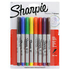 Sharpie Precision Permanent Markers, Ultra Fine Point, Assorted, Pack of 8