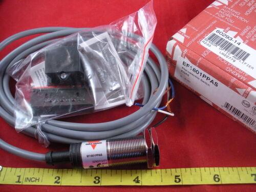Carlo Gavazzi EF1801PPAS Photoelectric Switch Sensor Fiber Optic Amplifier PNP