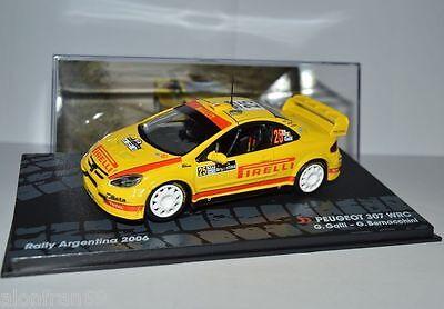 RALLY IXO DIECAST 1//43 PEUGEOT 307 WRC Galli// Bernacchini 2006  eRAL020