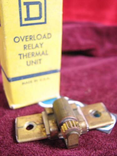 Square D Overload Relay Thermal Heater Unit