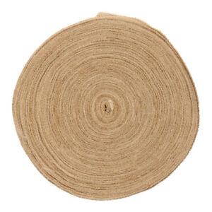 50M-Jute-Ribbon-Burlap-Fabric-Wedding-Wrapping-Burlap-Ribbon-Hessian-DIY-4cm