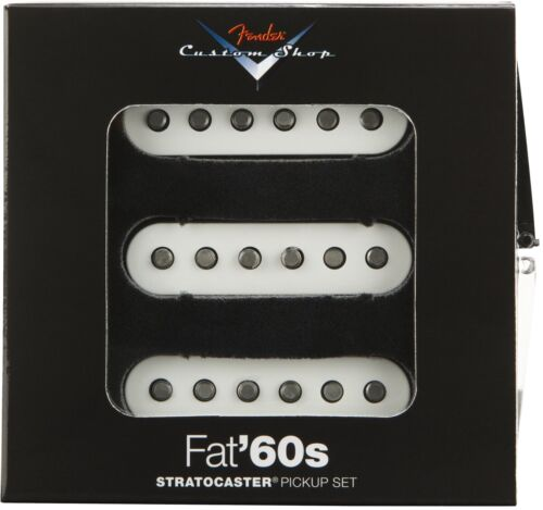 NEW Fender Custom Shop Fat 60s PICKUP SET Pickups Stratocaster Strat 0992265000