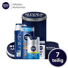 NIVEA MEN Geschenkset 7tlg. Gesichtscreme Shampoo Duschgel Deo Handtuch Dose
