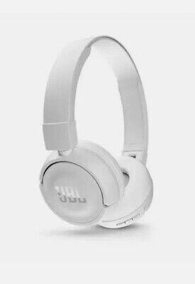 Jbl Harman T450bt Bass Wireless Bluetooth Headphones White New In Box In The Usa Ebay