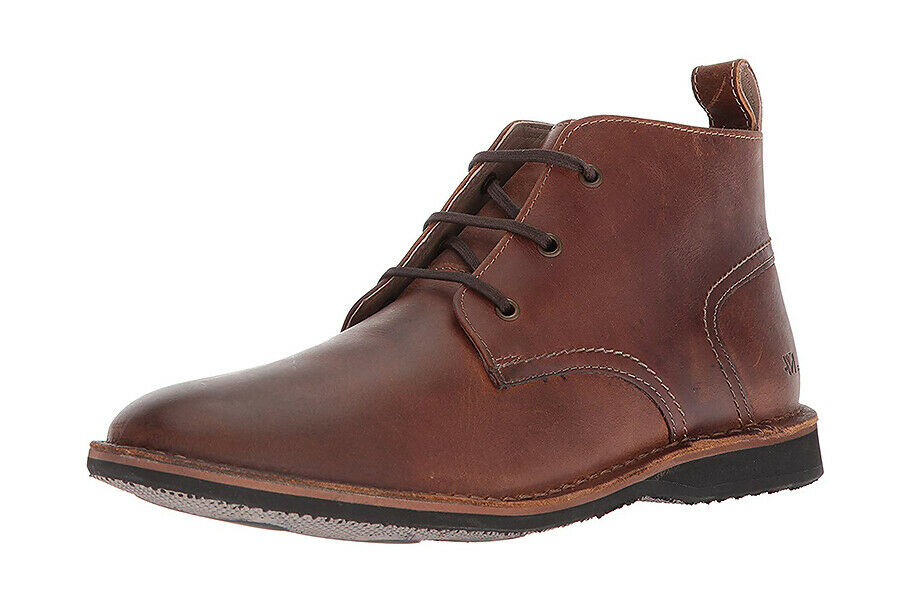 NIB - Andrew Marc Dorchester Chukka Leather Men Boots (MSRP  198)