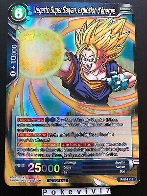 GUERRIER FUSIONNE BT2-001 R DBZ FR NEUF Dragon Ball Super VEGETTO SUPER SAIYAN