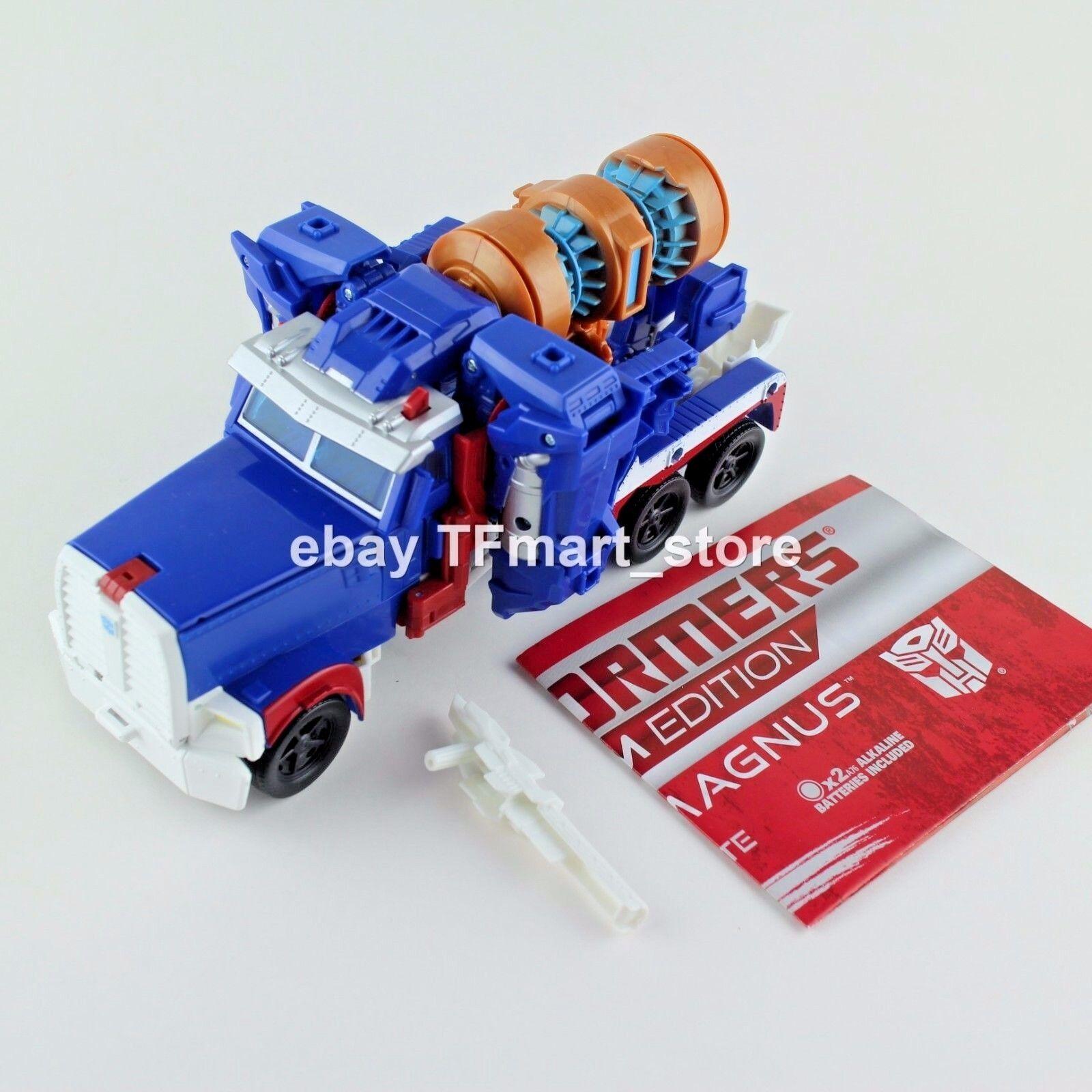 Transformers Prime Platinum Edition Ultra Magnus The 30th Anniversary Leader