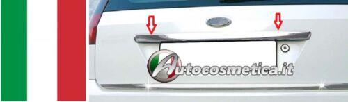 Copri Maniglia Cromata portellone baule Ford Fiesta Cromature 2002-2008