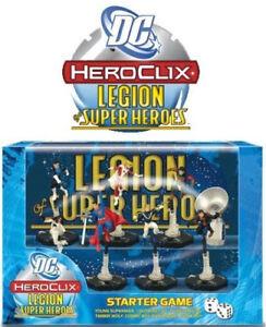 Heroclix Dc Starter Set Legion Of Superheroes Nouveau Jeune Superman