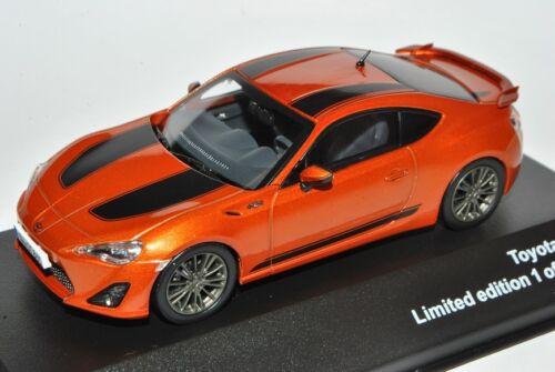 Naranja Toyota GT86 Coupe con rayas de 2012 1:43 mi coche del modelo J-colección...