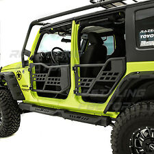 Rock Crawler Off Road Front+Rear Tubular 4 Door Set for 07-18 Jeep JK Wrangler