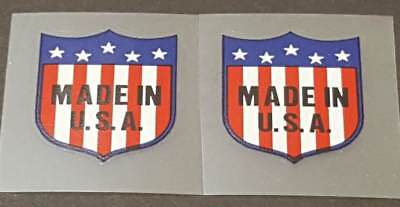 1 Pair White//Black sku Merl905 Vandermark Signature Decals