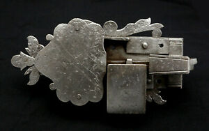 Original-Antique-Cabinet-Lock-Furniture-Lock-Baroque-Without-Key-Made