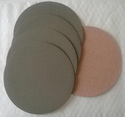 4 disques abrasif velcro pour poncer à l'eau grain 1200 format d150  APP HD