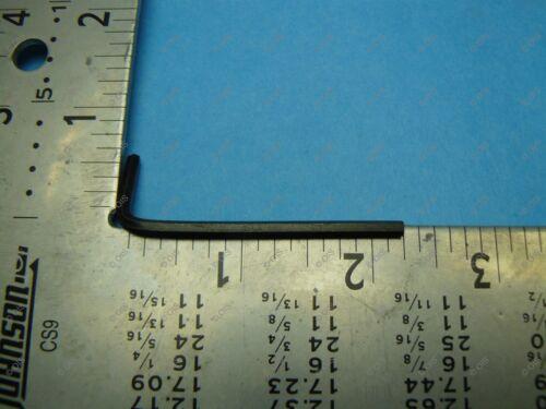 "Holo Krome 57013 Short Arm 7//64/"" Inch L Hex Key Allen Wrench Alloy Steel QTY 2"