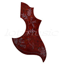 Tortoise Acoustic Guitar Pickguard Hummingbird For Gibson Replacement Parts
