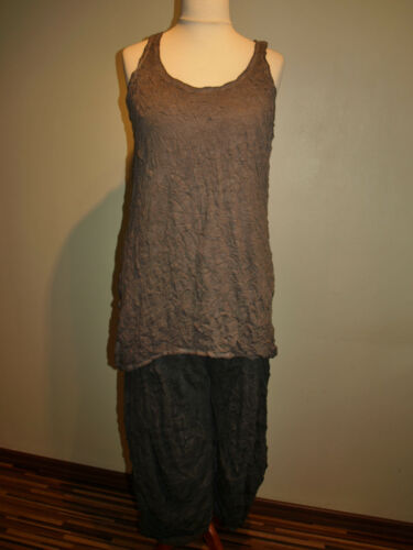 in Look No Barbara Knitter Speer Old Top Lagenlook Taupe w0qFI7