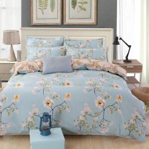 Juego-de-cama-de-algodon-para-edredon-Floral-funda-nordica-con-funda-de