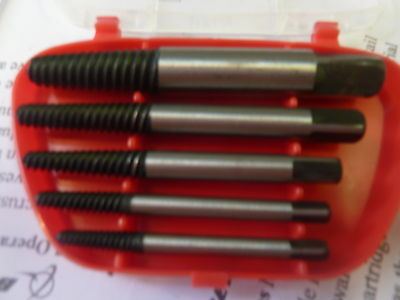 easy outs screw bolt fasteners removal extractors euro engineering mech tools