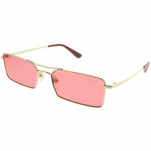 c81d03682 Gigi Hadid For Vogue VO 4106S 848/F5 Pale Gold Metal Sunglasses Pink ...