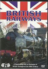 BRITISH RAIL RAILWAYS - 6 DVD BOX SET -A LOOK AT RAILWAYS IN 20TH CENTURY