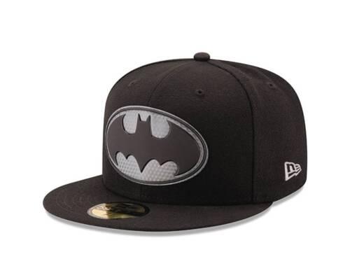 DC Comics Batman Logo Hexshine 5950 Fitted Baseball Cap
