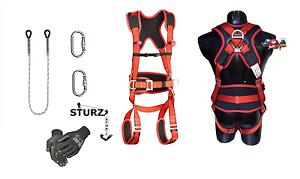 Klettergurt Set : Set xxl sicherheitsgurt klettergurt kletterausrüstung baumpflege