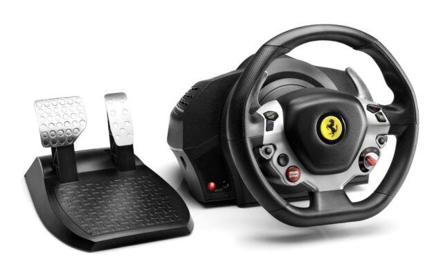 NEW Thrustmaster TX Racing Wheel Ferrari 458 Italia Edition Windows Xbox One PC