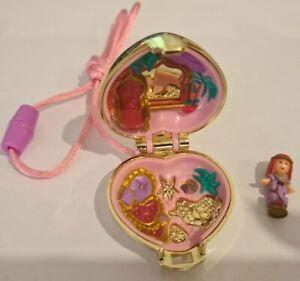 Vintage Polly Pocket BlueBird 1993 Princess Palace Locket Necklace COMPLETE