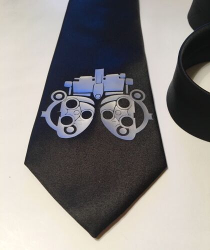 Optometrist The Eye Doctor Necktie New